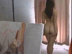 裸婦画モデルの妻と画家の義父とのイケナイ関係
